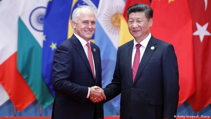 Xi Jinping Malcolm Turnbull