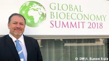 Tarsicio Granizo beim 2nd Global Bioeconomy Summit in Berlin