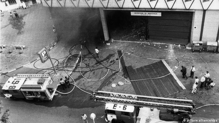 ETA Terroranschlag in Barcelona 1987 (picture alliance/dpa)