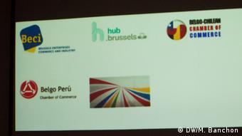 Lateinamerikanische Handelskammer in Brüssel (DW/M. Banchon)