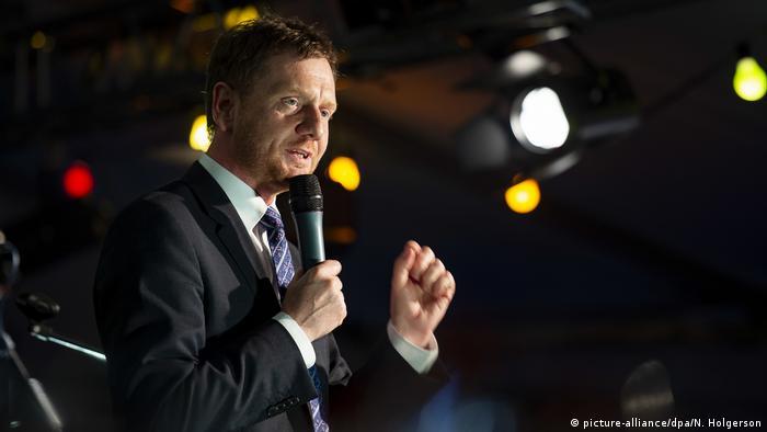Michael Kretschmer, Saxony's premier