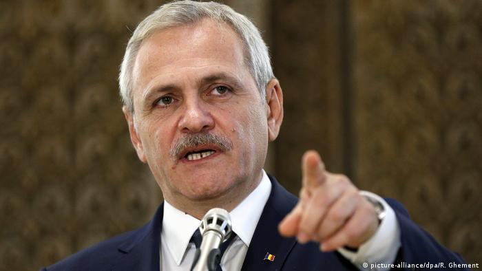 Romania Social Democrats leader Liviu Dragnea