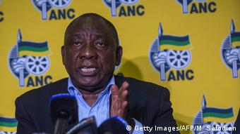 Südafrika Mahikeng Auschreitungen Cyril Ramaphosa