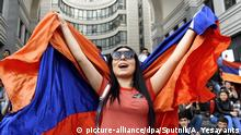 5478287 18.04.2018 Participant of the opposition protests in Yerevan. Protests followed Serzh Sargsyan's election as prime minister in the Parliament. Asatur Yesayants / Sputnik Foto: Asatur Yesayants/Sputnik/dpa |