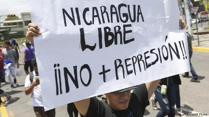 Nicaragua Prostets (picture alliance/AP Photo)