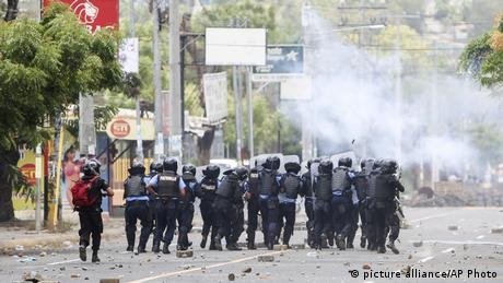 Nicaragua Protests (picture alliance/AP Photo)