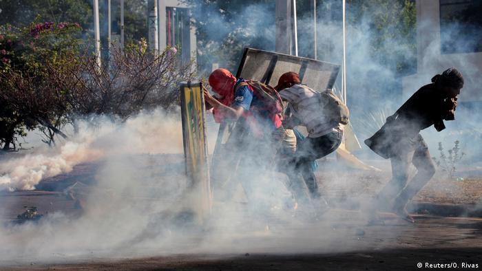 Nicaragua Ausschreitungen und Proteste (Reuters/O. Rivas)