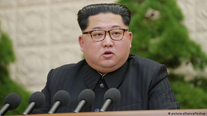 Nordkorea Kim Jong-un (picture-alliance/Yonhap)