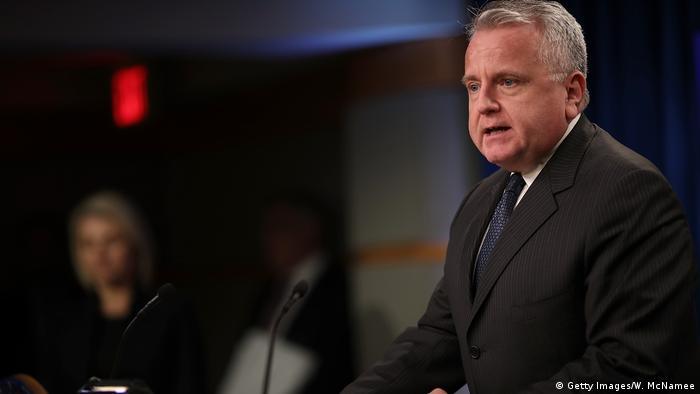 USA John Sullivan, kommissarischer Außenminister (Getty Images/W. McNamee)
