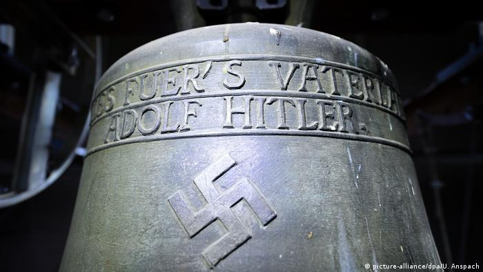 Bell with Nazi symbols