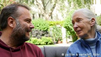 Oliver Kyr also met famous British ethologist Jane Goodall