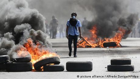 Proteste gegen Reformen in Nicaragua (picture alliance / Alfredo Zuniga/AP/dpa)