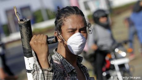 Proteste gegen Reformen in Nicaragua (AFP/Getty Images)