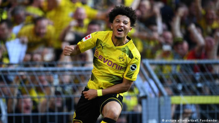 Jadon Sancho stars as Dortmund boost UCL hopes with victory over Leverkusen