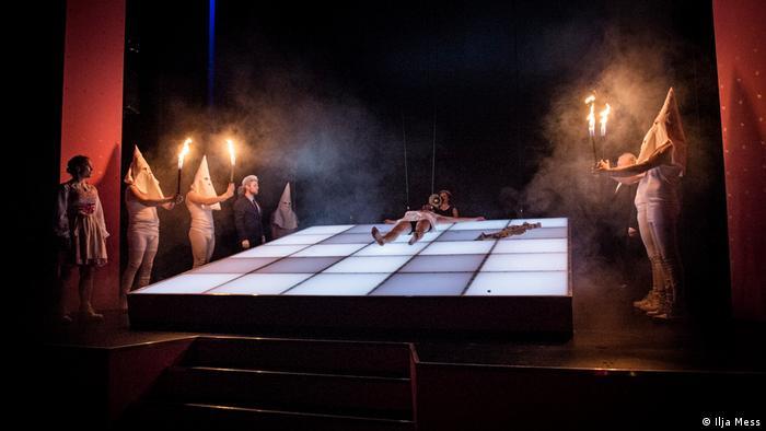 Premierenabend Mein Kampf Theater Konstanz