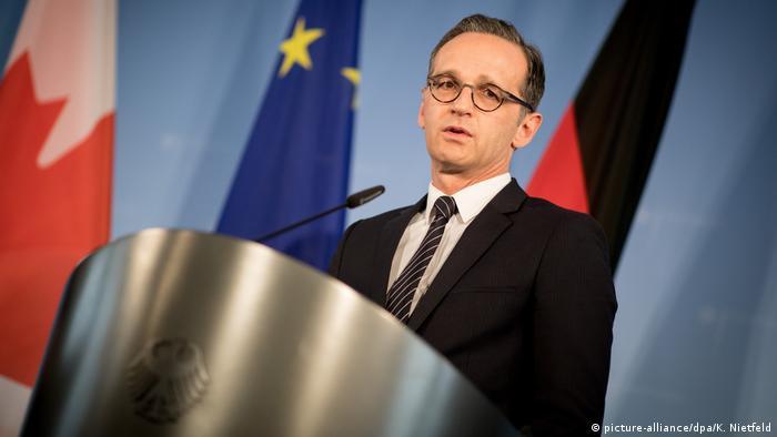 German Foreign Minister Heiko Maas (SPD)