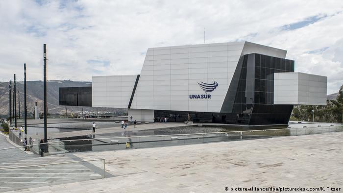 HQ for UNASUR in Ecuador