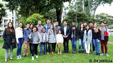 Grupo de jóvenes colombianos.
