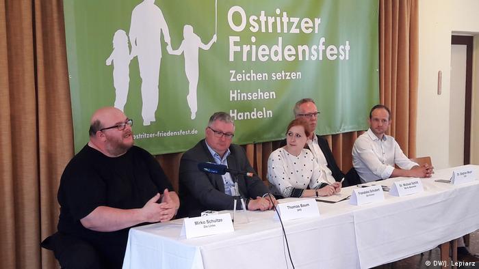 Deutschland Ostritzer Friedensfest gegen Neonazi-Festival (DW/J. Lepiarz)