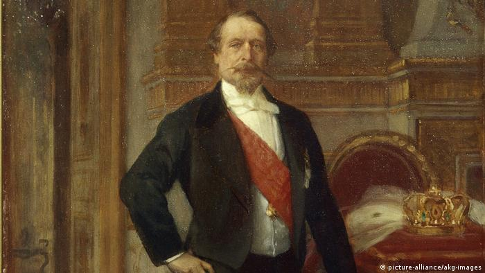 Napoleon III. Gemälde (picture-alliance/akg-images)