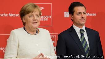 Hannover Messe 2018 | Angela Merkel mit dem mexikanischen Präsident Enrique Pena Nieto