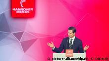 Hannover Messe 2018   Mexikanischer Präsident Enrique Pena Nieto