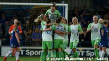 UEFA WCL | Chelsea Ladies v Wolfsburg Ladies - Halbfinale (picture-alliance/empics/P. Harding)