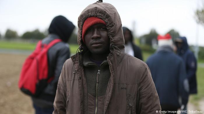 Frankreich Asylsuchende
