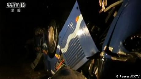 Аварія автобуса в КНДР: загинули понад 30 китайських туристів