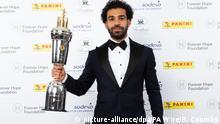 Großbritannien London - PFA Fussball Award an Mohamed Salah