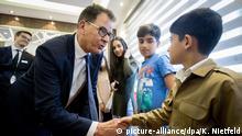 Entwicklungsminister Gerd Müller im Irak