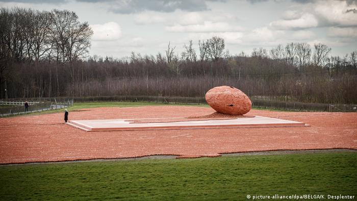 Belgien Ypern - Installation für die Opfer des Ersten Weltkriegs