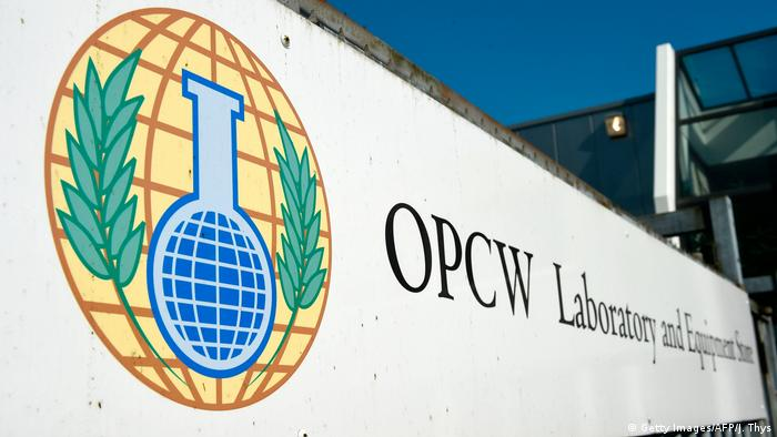 The OPCW headquarters in The Hague