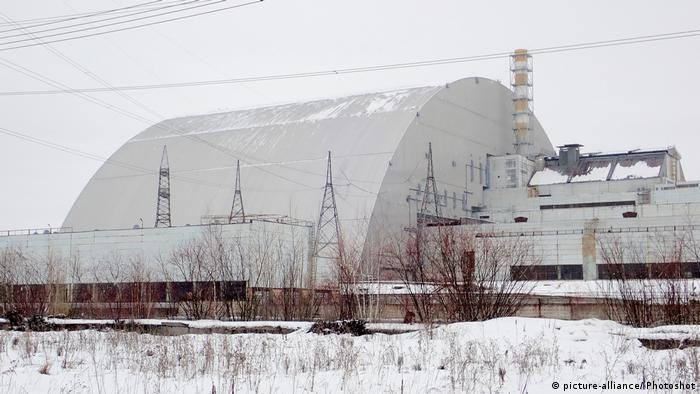 Ukraine Tschernobyl Reaktorruine (picture-alliance/ Photoshot)