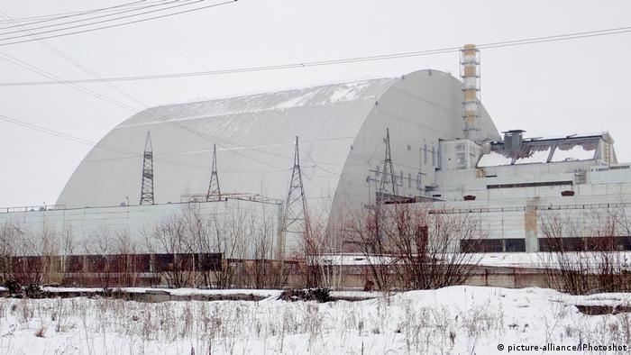 Ukraine Tschernobyl Reaktorruine (picture-alliance/ Photoshot)