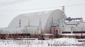 Новий конфайнмент над зруйнованим реактором