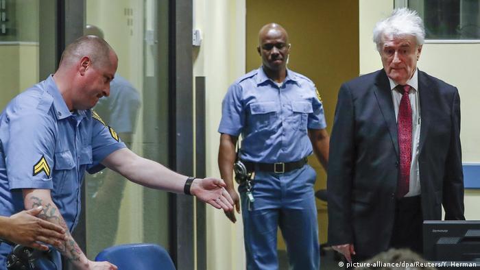 Holland Den Haag - Radovan Karadzic vor Gericht