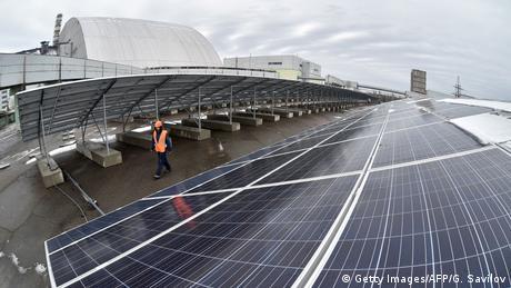 Перша сонячна електростанція в Чорнобилі до цих пір не працює