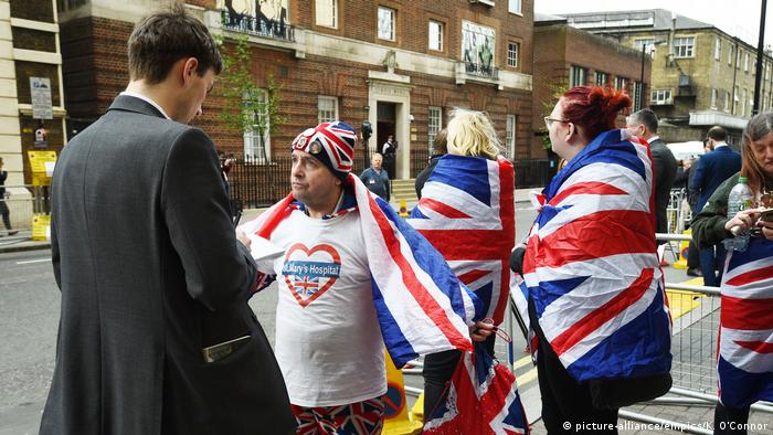 UK Royal Baby (picture-alliance/empics/K. O'Connor)