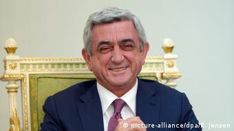 Бывший армянский президент Серж Саргсян