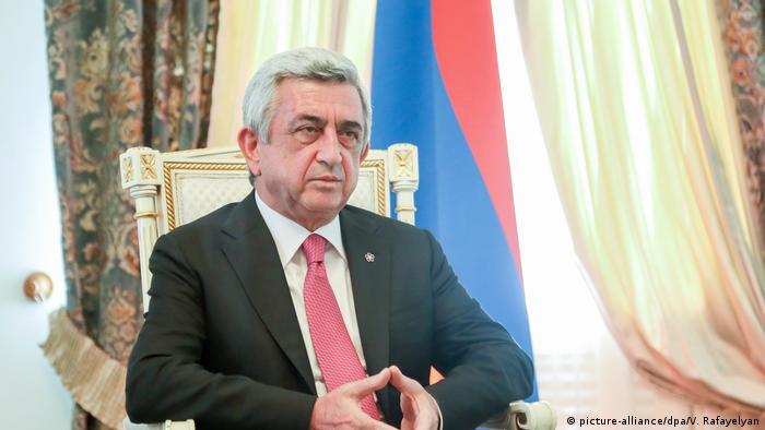 Sargsyan as Armenian president