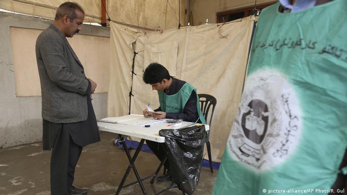 Afghanistan Wahllokale