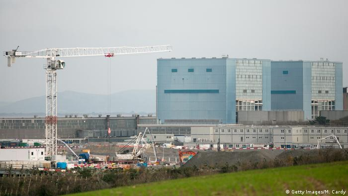 UK Baustelle im AKW Hinkley Point C