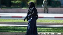 Religiöse Kopfbedeckung Niqab Nikab