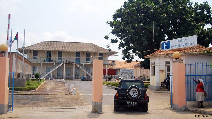 Sao Tomé e Príncipe Krankenhaus Ayres de Menezes
