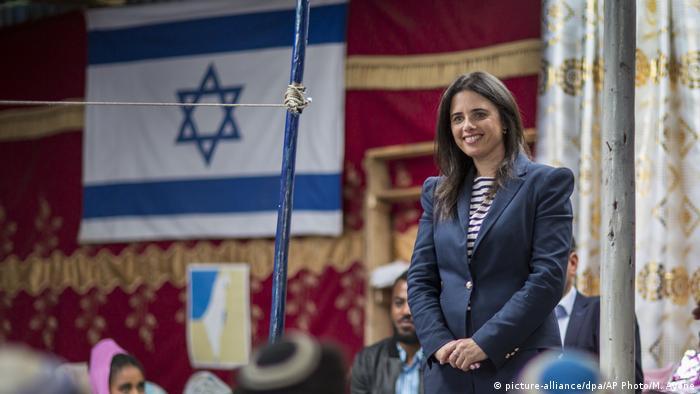 Äthiopien Israel Justice Minister Ayelet Shaked