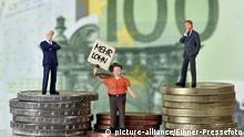 Symbolbild Einkommensunterschied
