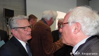 Joachim Gauck und Prof. Nicolas Apostolopoulos