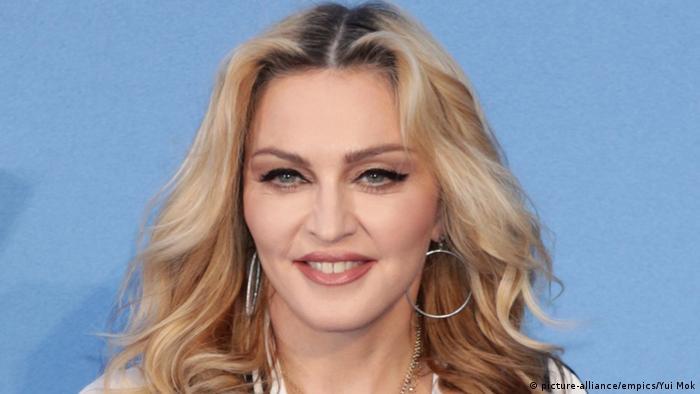 Großbritannien Popstar Madonna in London