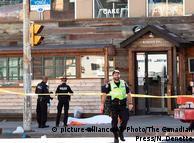 На месте происшествия в Торонто